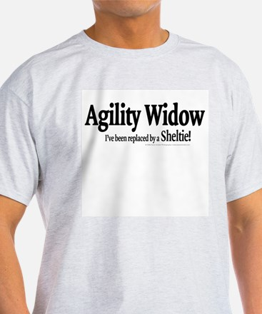 Agility Widow Ash Grey T-Shirt
