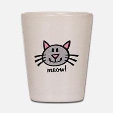 Lil Grey Cat Shot Glass