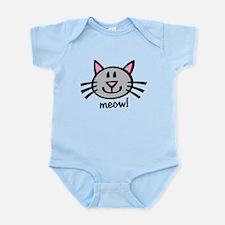 Lil Grey Cat Infant Bodysuit