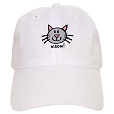 Lil Grey Cat Baseball Cap