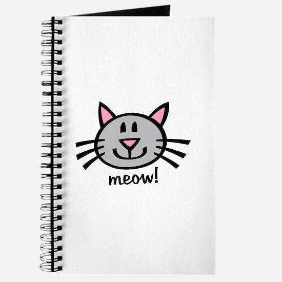 Lil Grey Cat Journal