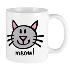 Lil Grey Cat Mug