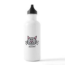 Lil Grey Cat Water Bottle