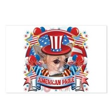 American Pride Chihuahua Postcards (Package of 8)