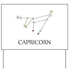 Capricorn Yard Sign