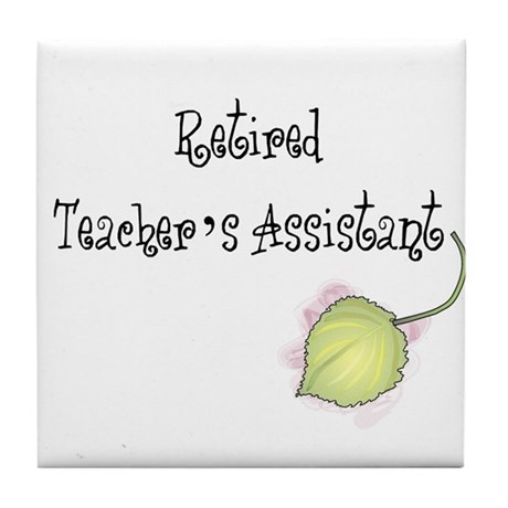 Teacher's Assistant Tile Coaster