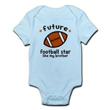 Football Brother Infant Bodysuit