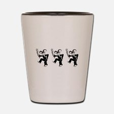 Krampus Trio Shot Glass