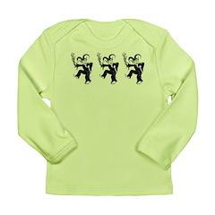 Krampus Trio Long Sleeve Infant T-Shirt