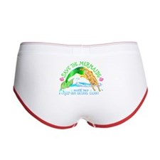 Save the Mermaids Women's Boy Brief