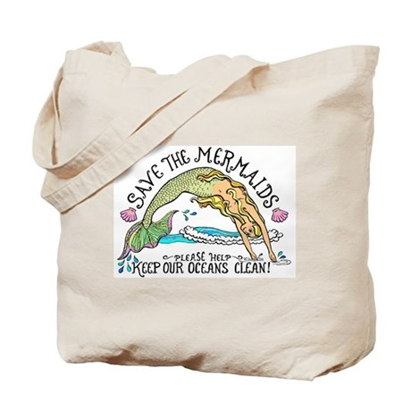 Save the Mermaids Tote Bag