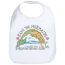 Save the Mermaids Bib