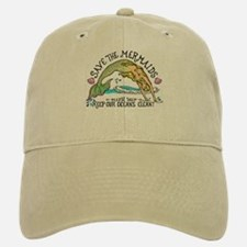 Save the Mermaids Baseball Baseball Cap