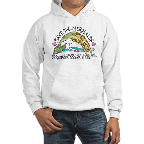 Save the Mermaids Hooded Sweatshirt