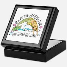 Save the Mermaids Keepsake Box