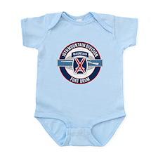 10th Mountain with CIB Infant Bodysuit