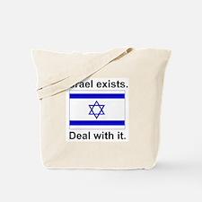Israel Exists Tote Bag