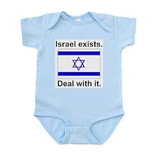 Israel Exists Infant Bodysuit