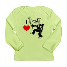 I *heart* Krampus Long Sleeve Infant T-Shirt