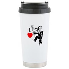I *heart* Krampus Travel Mug
