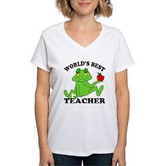 Frog Teacher Shirt