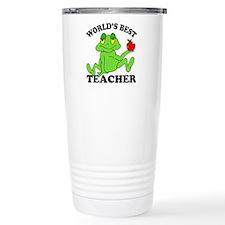 Frog Teacher Travel Mug