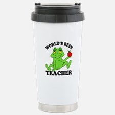 Frog Teacher Travel Mug