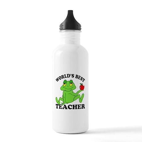 Frog Teacher Stainless Water Bottle 1.0L