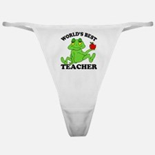 Frog Teacher Classic Thong