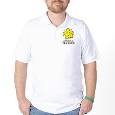 Superstar Teacher Golf Shirt