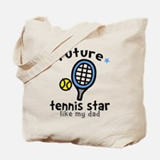 Tennis Star - Dad Tote Bag