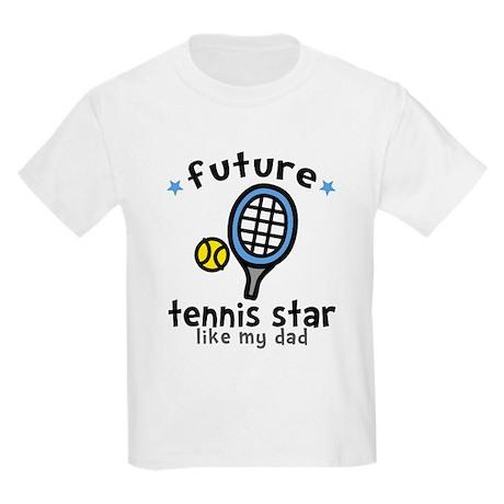 Tennis Star - Dad Kids Light T-Shirt