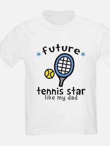 Tennis Star - Dad T-Shirt