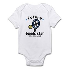 Tennis Star - Dad Infant Bodysuit