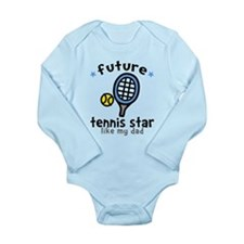 Tennis Star - Dad Onesie Romper Suit