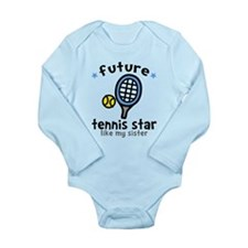 Tennis - Sister Long Sleeve Infant Bodysuit