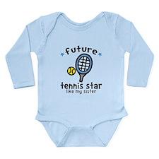 Tennis - Sister Long Sleeve Infant Bodysuit