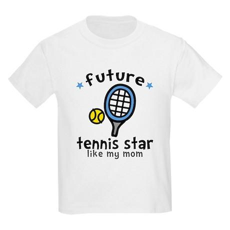 Tennis - Mom Kids Light T-Shirt