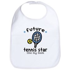 Tennis - Mom Bib
