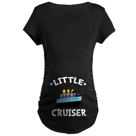 Little Cruiser Maternity Dark T-Shirt