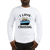 Cruise ship Long Sleeve T-shirts