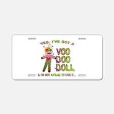 VooDoo Doll Aluminum License Plate