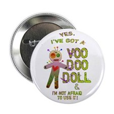 """VooDoo Doll 2.25"""" Button"""