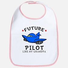 Pilot Like Grandpa Bib