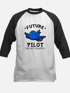 Pilot Like Grandpa Kids Baseball Jersey