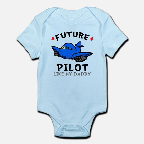 Pilot Like Daddy Infant Bodysuit