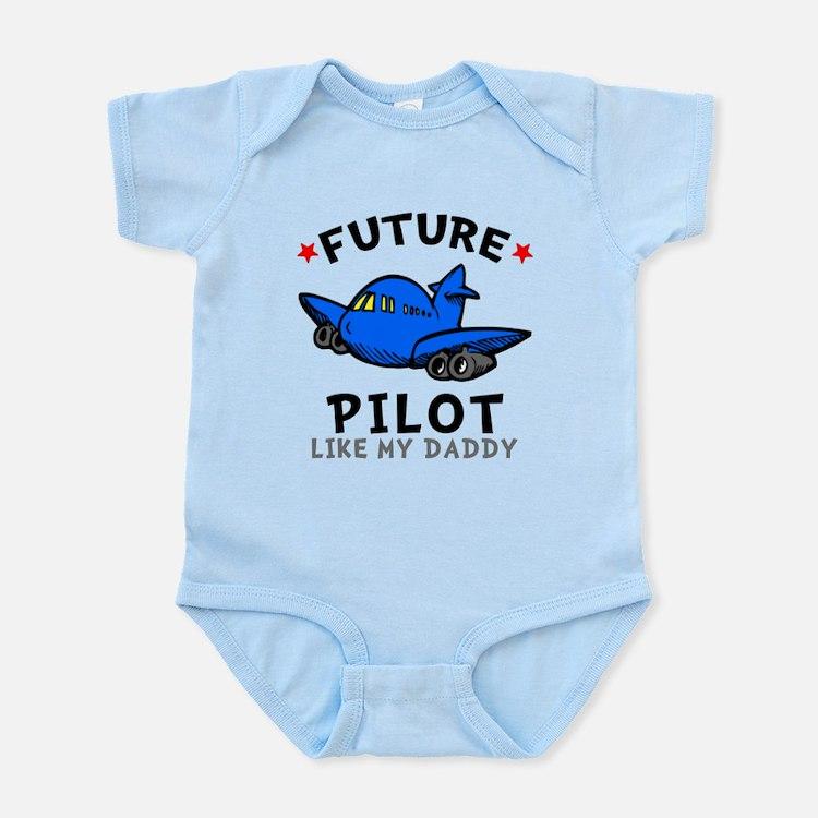 Pilot Like Daddy Infant Bodysuit