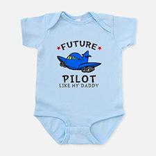 Pilot Like Daddy Onesie