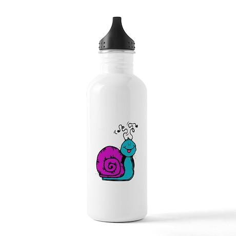 Purple Snail Stainless Water Bottle 1.0L