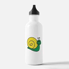 Green Snail Water Bottle